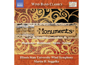 Illinois State University Wind - Monuments - (CD)