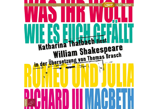 Katharina Thalbach - WILLIAM SHAKESPEARE (MP3 BOX) - (MP3-CD)