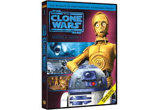 Star Wars: The Clone Wars: Säsong 4 Volym 1 Barn DVD