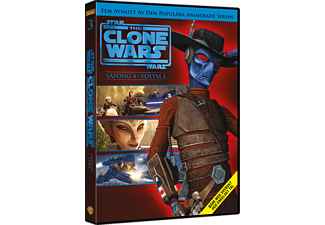 Star Wars: The Clone Wars: Säsong 4 Volym 3 Barn DVD