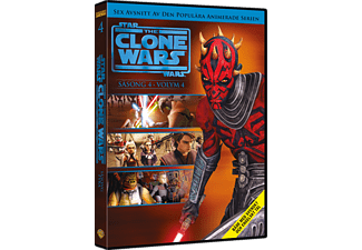 Star Wars: The Clone Wars: Säsong 4 Volym 4 DVD