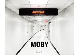 Moby - Destroyed - (CD + Buch)