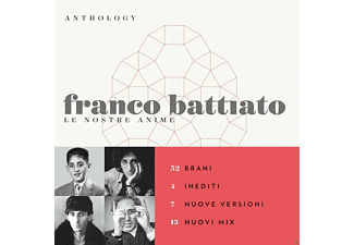 Franco Battiato - Anthology-Le Nostre Anime [CD]