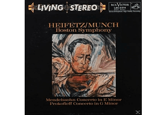 Jascha Heifetz, Charles Munch, Boston Symphony Orchestra - Concerto In E Minor - (Vinyl)