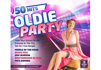 Various - Oldie Party-50 Hits - (CD)