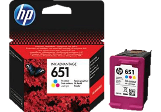 HP 651 Tri-color - (C2P11AE)