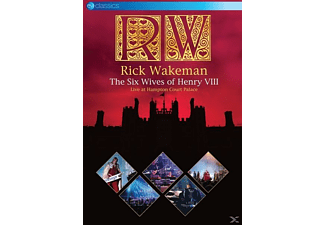 Rick Wakeman - THE SIX WIVES OF HENRY VIII-LIVE AT HAMPTON COURT - (DVD)