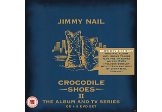 Jimmy Nail - Crocodile Shoes II - The Album And Tv Series (Box Set) [CD + DVD Video]