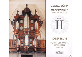 Jozef Sluys (orgel), Sluys Jozef - Orgelwerke Vol.2 - (CD)