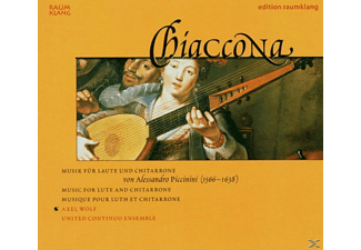 Axel Wolf, United Continuo Ens. - Chiaccona - (CD)