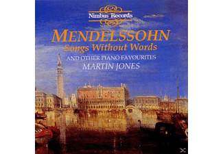 Martin Jones - Mendelssohn Songs Without Words - (CD)