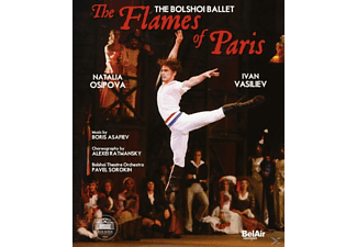 Bolshoi Ballet/Osipova/Vasiliev - The Flames Of Paris - (Blu-ray)