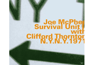 Joe McPhee (trumpet, tenor sax), Clifford Thornton - N.Y.N.Y.1971 - (CD)