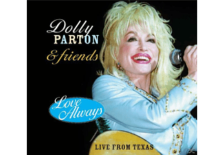 Dolly Parton - LOVE ALWAYS LIVE +... - (CD)