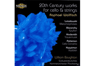 Raphael Wollfisch, Wallfisch/Boughton/Südewestseutsches Kammerorch. - Works For Cello And Strings - (CD)
