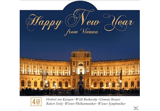 VARIOUS - Happy New Year From Vienna - (CD)