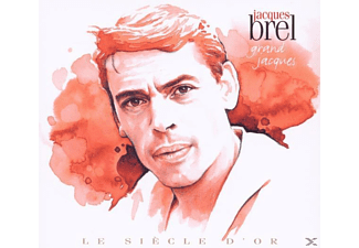 Jacques Brel - Le Siecle D Or - (CD)