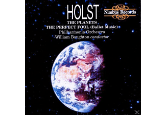 The Philharmonia Orchestra, William Boughton - The Planets - (CD)