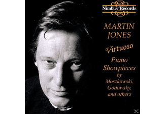 Martin Jones - Virtuoso Piano Showpieces - (CD)
