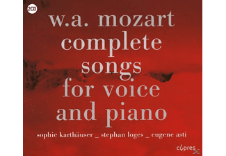 Stephan Loges - COMPLETE SONGS FOR VOICE AND PIANO - (CD)