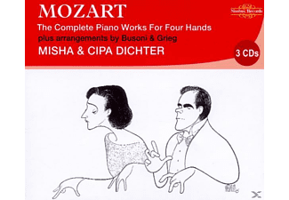 Misha Dichter, Cipa Dichter - Complete Piano Works 4 Hands - (CD)