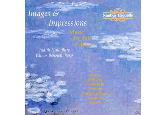 Judith Hall, Elinor Bennett - Images & Impressions - (CD)