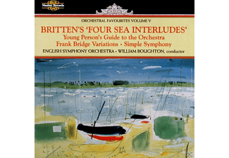 William Boughton, English Symphony Orchestra - Four Sea Interludes - (CD)