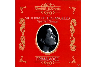 Victoria De Los Angeles, Victoria/cvarious Angeles - De Los Angeles/Prima Voce - (CD)