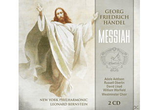 Leonard Bernstein, New York Philharmonic - Messiah - (CD)