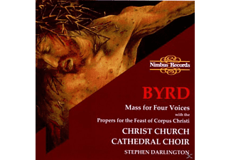 Stephen/christ Church Cathedral Choir Darlington - Mass For Four Voices - (CD)