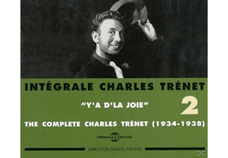 Charles Trenet - The Complete(1934-1938) Y'a D'la Joie [CD]