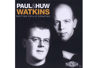 Paul Watkins, Paul & Huw Watkins - British Cello Sonatas - (CD)