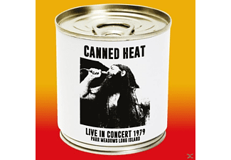 Canned Heat - Live In Concert 1979 Parr Meadows Long Island [CD]