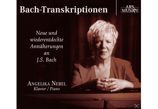 Angelika Nebel (klavier), Angelika Nebel - Bach-Transkriptionen - (CD)