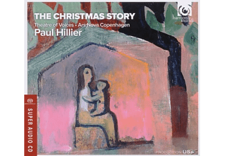 Theatre Of Voices/Ars Nova Copenhagen/Hillier - The Christmas Story - (SACD Hybrid)