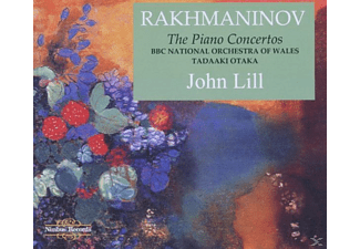 John Lill, Bbc National Orchestra Of Wales, Tadakki Otaka, John/otaka/bbc National Orchestra Lill - Klavierkonzerte/Sonate 2/Corelli-Variationen - (CD)