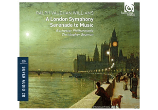 Seaman, Rochester Philharmonic - A London Symphony/Serenade To - (SACD Hybrid)