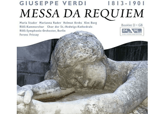 Ferenc Rias So Berlin/fricsay - Messa Da Requiem (Verdi, Giuseppe) - (CD)
