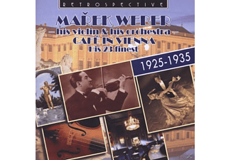 His Violin & His Orchestra Marke Weber, Marek Weber - Cafe In Vienna - (CD)