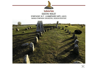 Munich So, Douglas Bostock, Douglas Munich So/bostock - Symphony In F-A Hamshire Suite (Holst, Gustav) [CD]