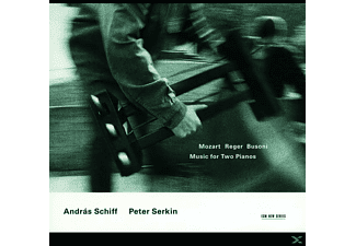 SCHIFF,ANDRAS & SERKIN,PETER - Music For Two Pianos - (CD)