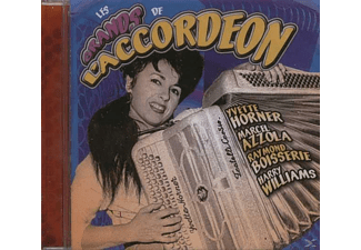 VARIOUS - Les Grands De L'accordeon [CD]