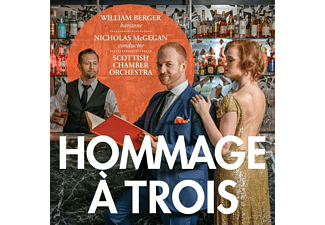 Scottish Chamber Orchest William Berger (bariton), Berger/McGegan/Sampson - Hommage à trois - (SACD Hybrid)
