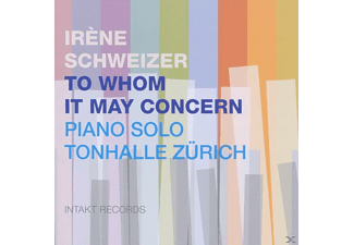 Irene Schweizer - To Whom It May Concern - (CD)