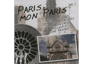 VARIOUS - Paris, Mon Paris Vol.1 - (CD)