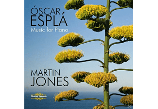 Martin Jones - Music For Piano - (CD)
