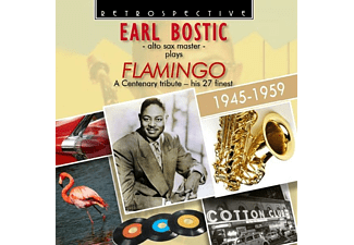 Earl Bostic - Alto Sax Master plays Flamingo - (CD)
