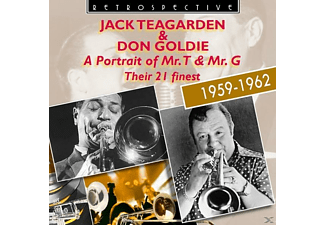 Jack Teagarden, Don Goldie - A Portrait of Mr T and Mr G-The - (CD)