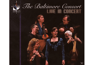The Baltimore Consort - Live In Concert - (CD)
