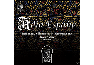 The Baltimore Consort - Adio Espana - (CD)
